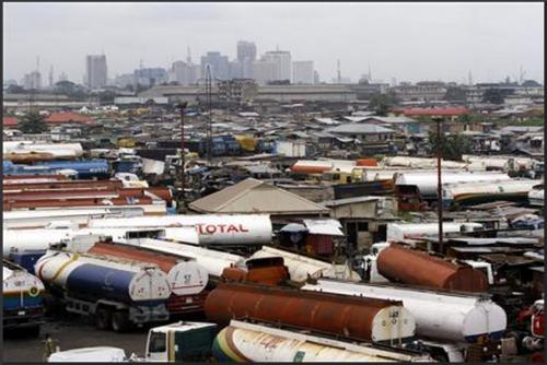 Lagos, Nigeria.  Image: REUTERS/Akintunde Akinleye