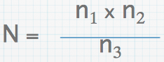 Lincoln Index formula. See the syllabus for a further explanation on its use.