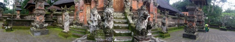 Temple, Ubud, Bali, Indonesia.