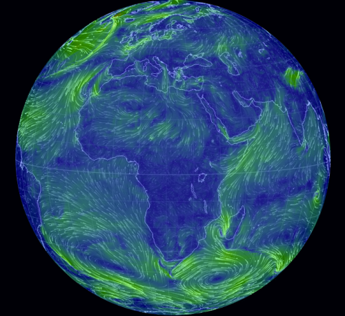 Earth wind map screen capture: http://earth.nullschool.net