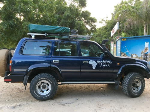 Sweet 80 expedition build driven to TZ from South Africa