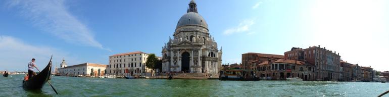 Grande Canale, Venice, Italy.
