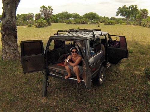 Pit stop, Selous Game Reserve, Tanzania. 2013