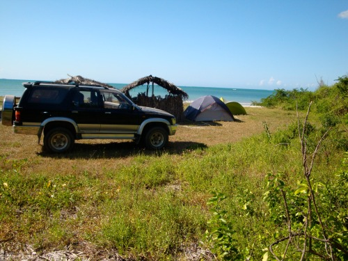 Beach camp, Tanzania. 2009