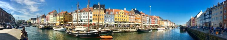 Denmark Nyhavn Street Copenhagen