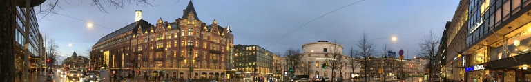 Finland Stockmann Dept Store and Swedish Theatre Helsinki